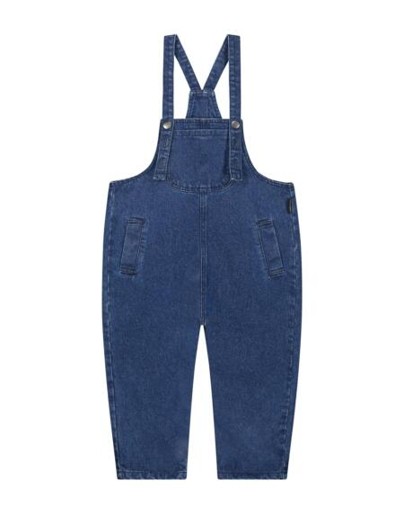 Latzhose Kids London Denim Indigo von Daily Brat