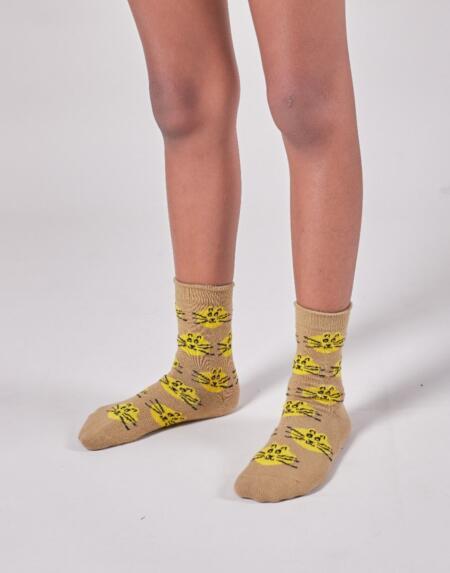 Socken 3er Pack Kids Fun And Cat Jacquard von Bobo Choses