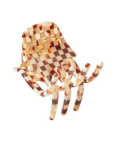 Haar Klammer Mini Tortoise Checker von Machete
