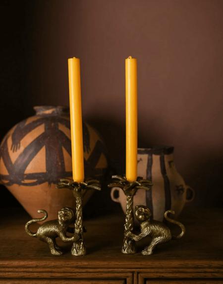Kerzenhalter Macy Monkey Set von Doing Goods