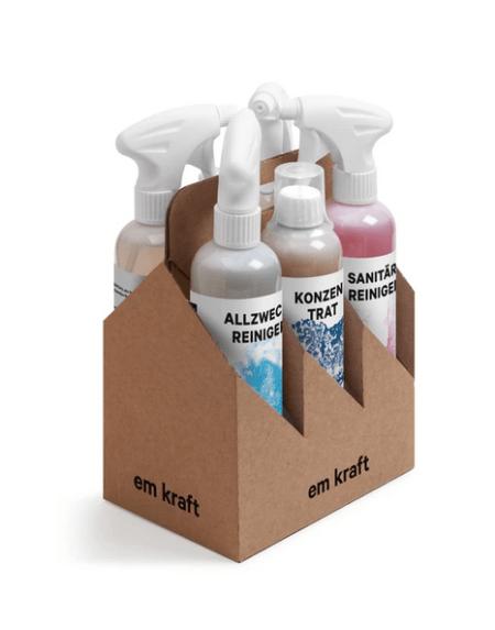 Reinigungs Set Six Pack von EM Kraft
