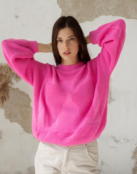 MOA Jumper Pink von Oat Ava