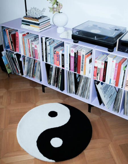 Teppich Yin Yang von Schoenstaub