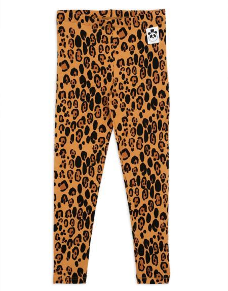 Leggings Basic Leopard von Mini Rodini