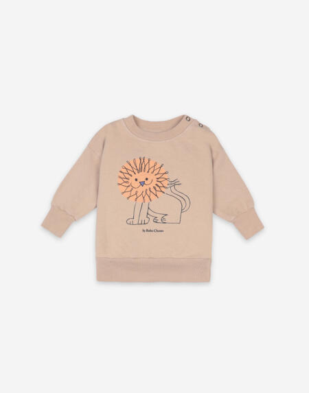 Pullover Baby Pet A Lion Brush von Bobo Choses