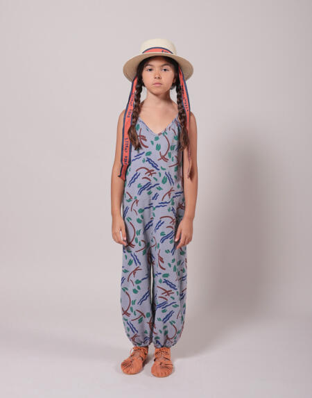 Overall Kids Strokes All Over Lavender Aura von Bobo Choses