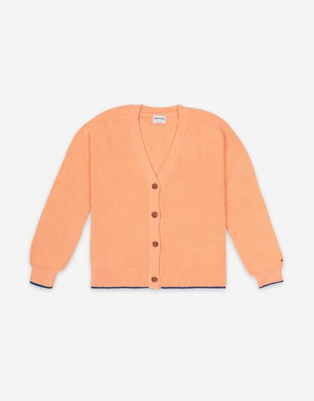 Cardigan Adult V-Neck Knitted von Bobo Choses