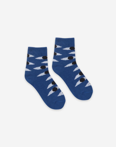 Socken Adults Eyes Blue von Bobo Choses