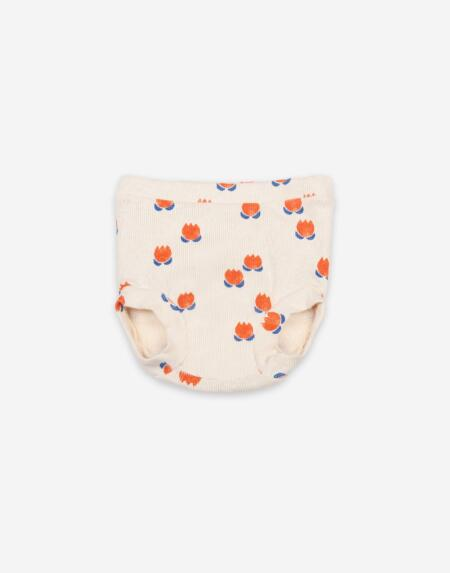Bloomer Baby Chocolate Flowers All Over Turtledove von Bobo Choses