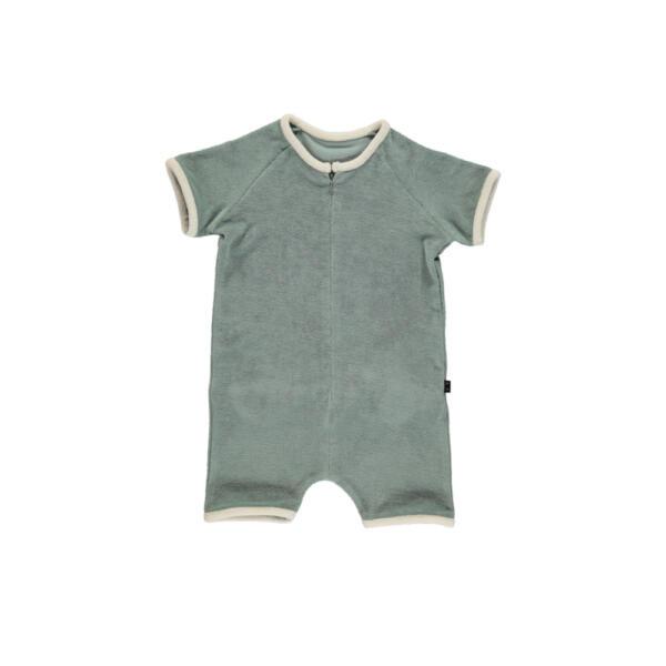 Suit Baby Frottee Shadow von Monkind