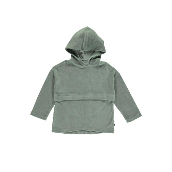 Kapuzenpullover Kids Shadow Grey von Monkind
