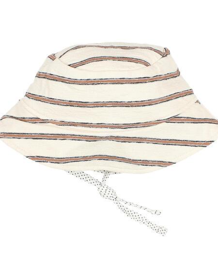 Sonnenhut Baby Navy Stripes Cocoa von Buho