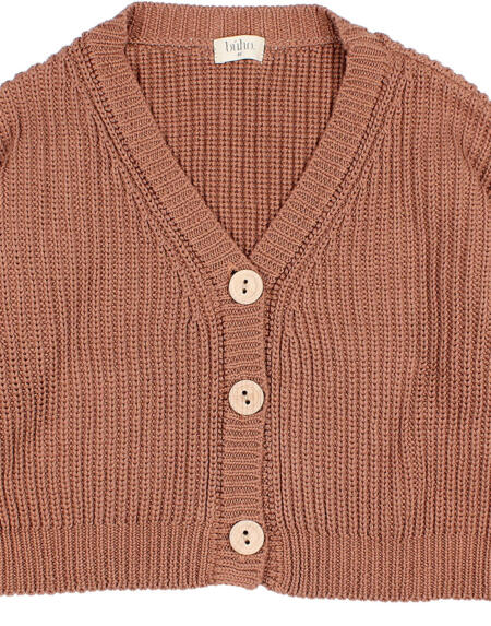 Cardigan Knit Cocoa von Buho