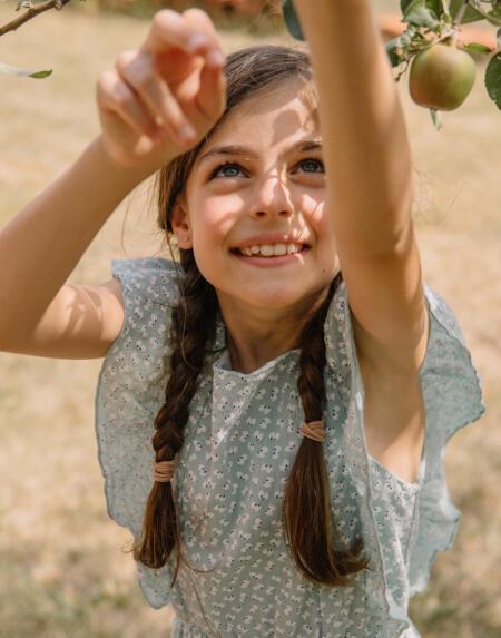 Kleid Kids Seed Almond von Buho