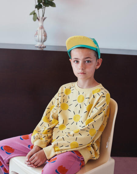 Pulli Kids Sun All Over Custard von Bobo Choses