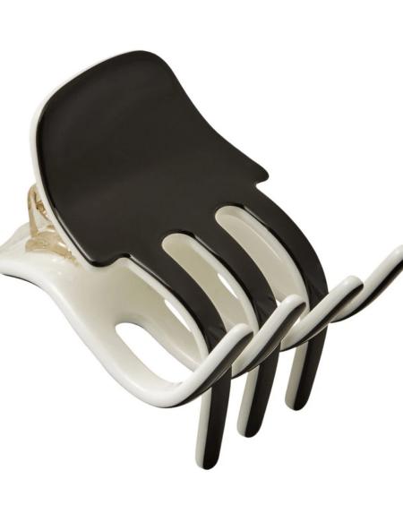 Haar Klammer Mini Black&Ivory von Machete