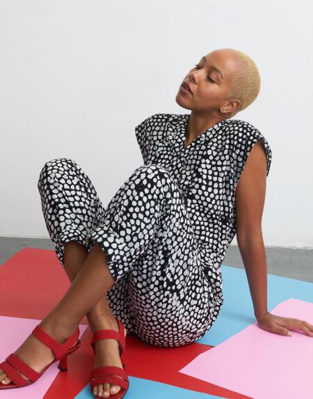Kleid Maena Boubou in Internet Baby von Osei Duro