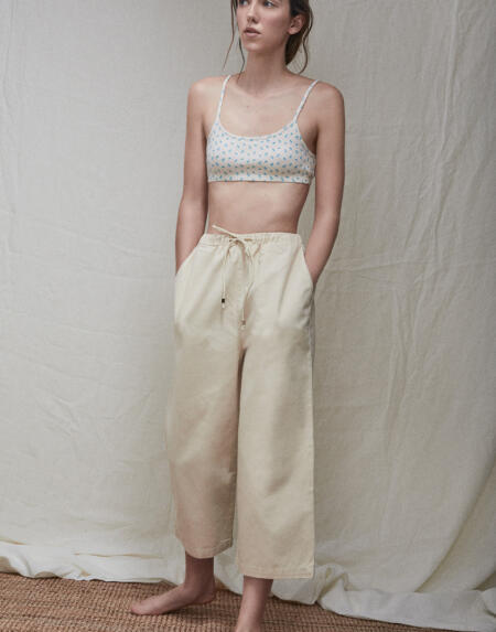 Hose Culotte Lucienne Natural von The New Society