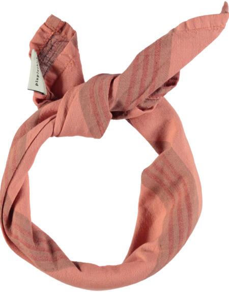 Bandana Pink With Multicolor Stripes von Piupiuchick