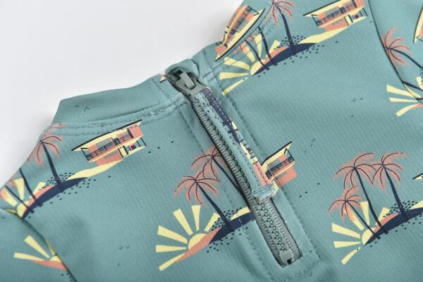 UV Schutz Set Agik Vintage Blue Hawaii von Louise Misha