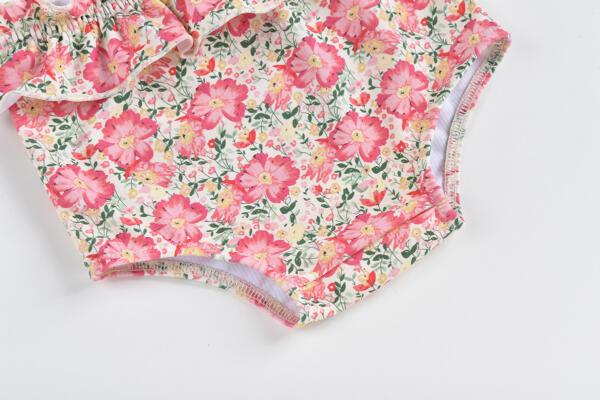Badehose Coco Pink Meadow von Louise Misha