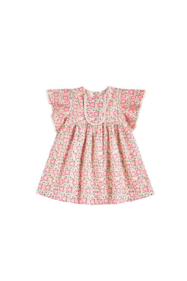 Kleid Kids Christina Pink Meadow von Louise Misha