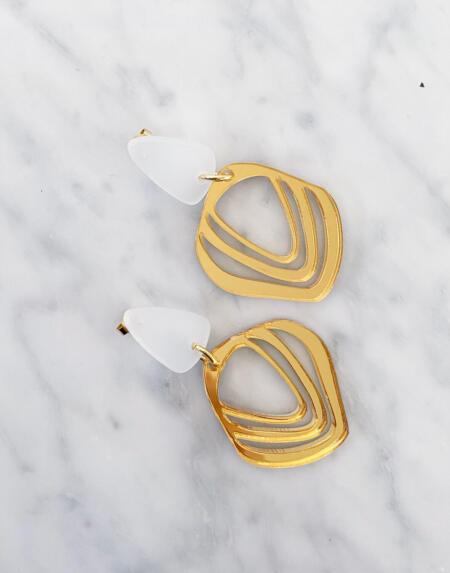 Iluska Gold Mirror & White von Vanto