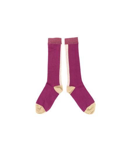 Socken Kids Purple von Longlivethequeen