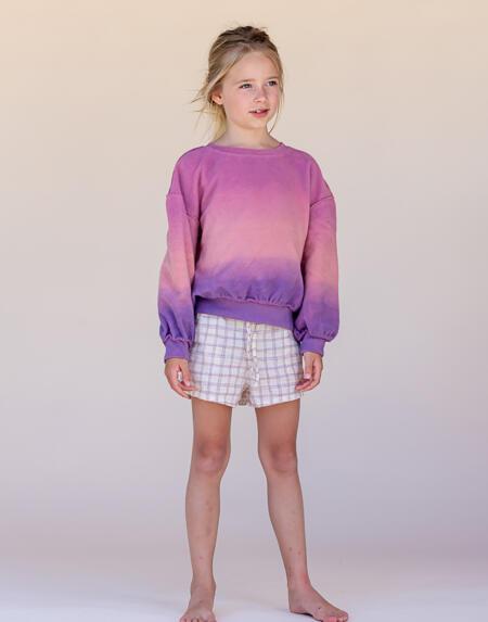 Pulli Kids Purple Pink von Longlivethequeen