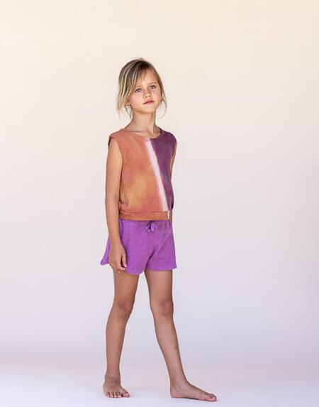 Shirt Kids Sleeveless Canyon Tie and Dye von Longlivethequeen