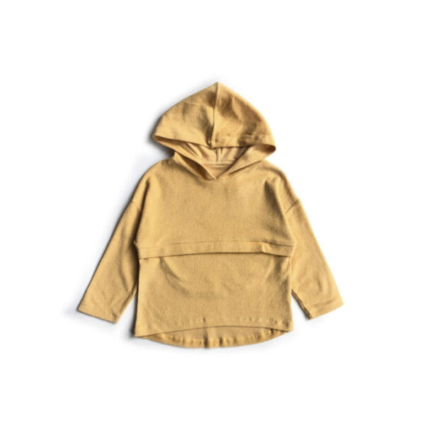Kapuzenpullover Kids Sunrise Yellow von Monkind
