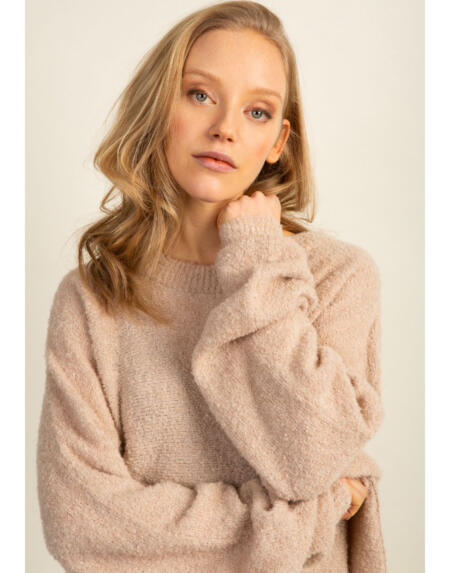 Jumper Basic Billy Oatmeal von LN Knits