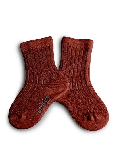 Glitzer Socken Châtaigne von Collégien