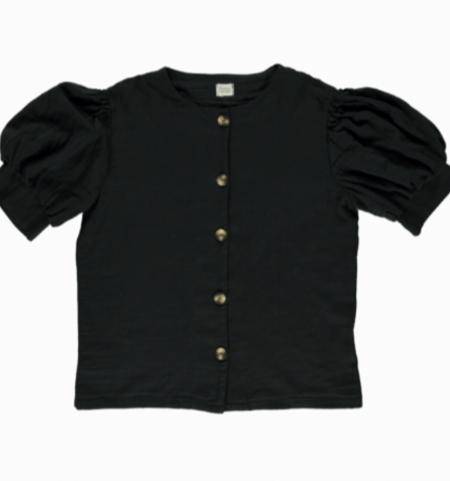 Bluse Poire Pirate Black von Poudre Organic