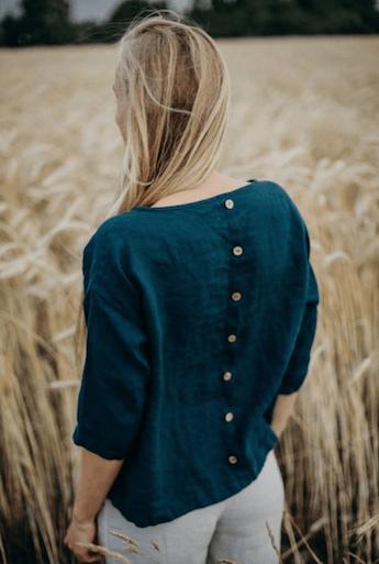 Linen Shirt May von La Petite Alice