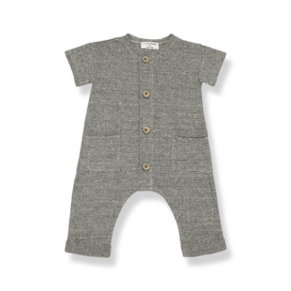 Jumpsuit Baby Enzo anthracite von 1+ in the Family