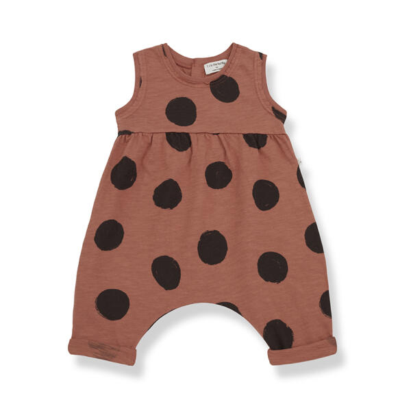 Jumpsuit Baby Paula roibos von 1+ in the Family