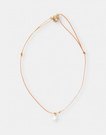 Halskette rosa mit Stern von Buho