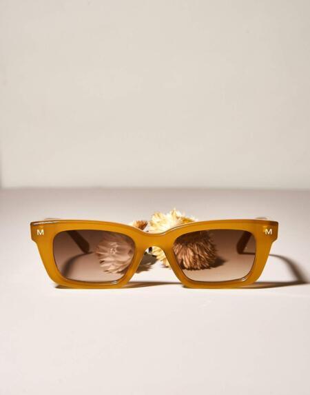 Sonnenbrille Ruby Cognac von Machete