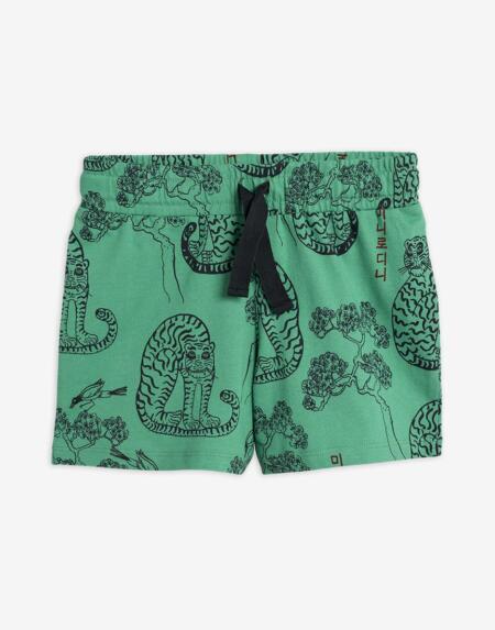 Shorts Kids Tigers Green von Mini Rodini