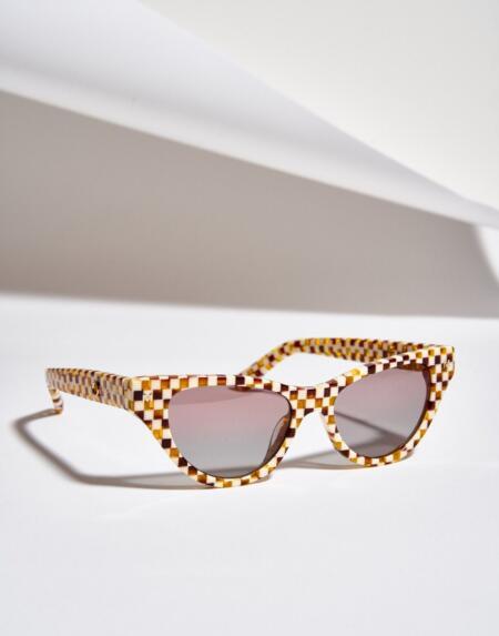 Sonnenbrille Suzy Tortoise Checker von Machete