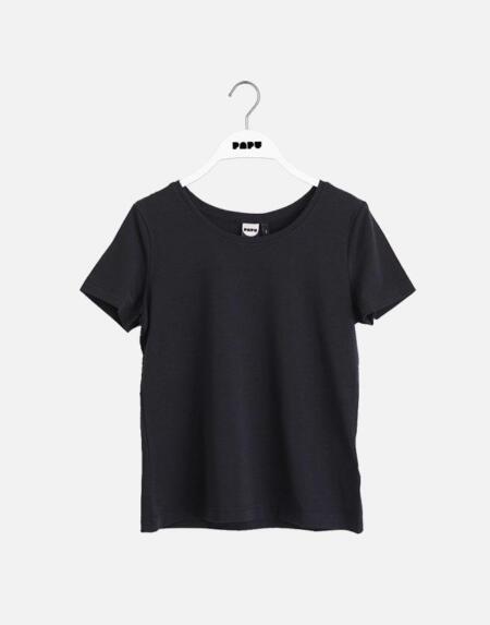 Classic T-Shirt Adult Black von Papu