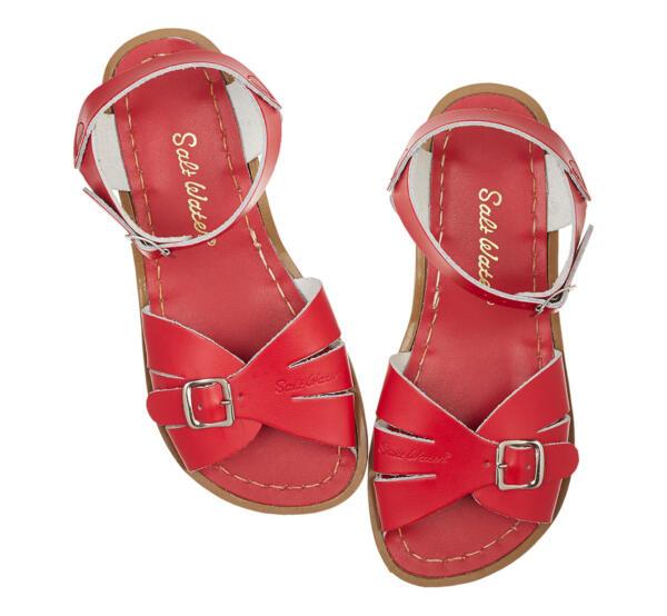 Classic Kids Red von Salt Water Sandalen