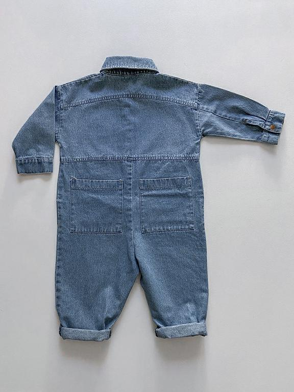 The Denim Boiler Suit von The Simple Folk