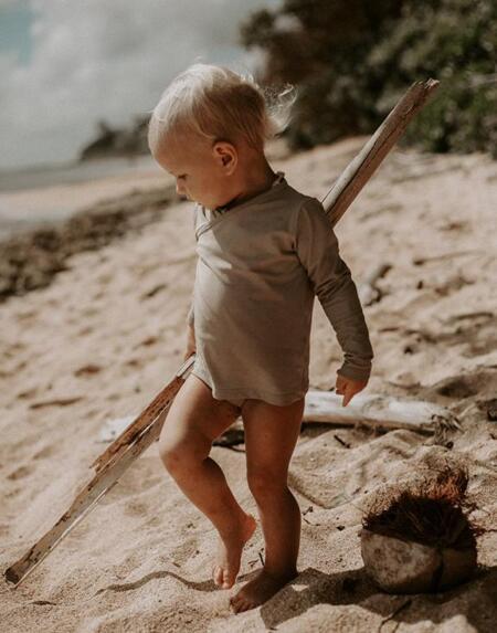 The Swim Top Dune von The Simple Folk