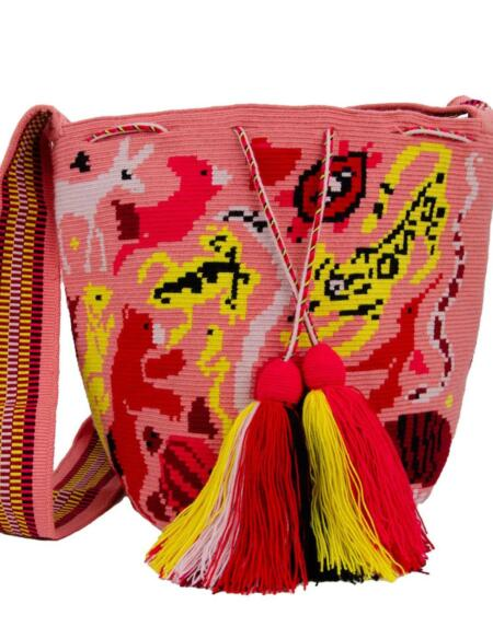 Animal Love Tasche Coral