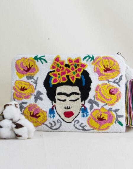 Frida Clutch Yellow von Mama Tierra