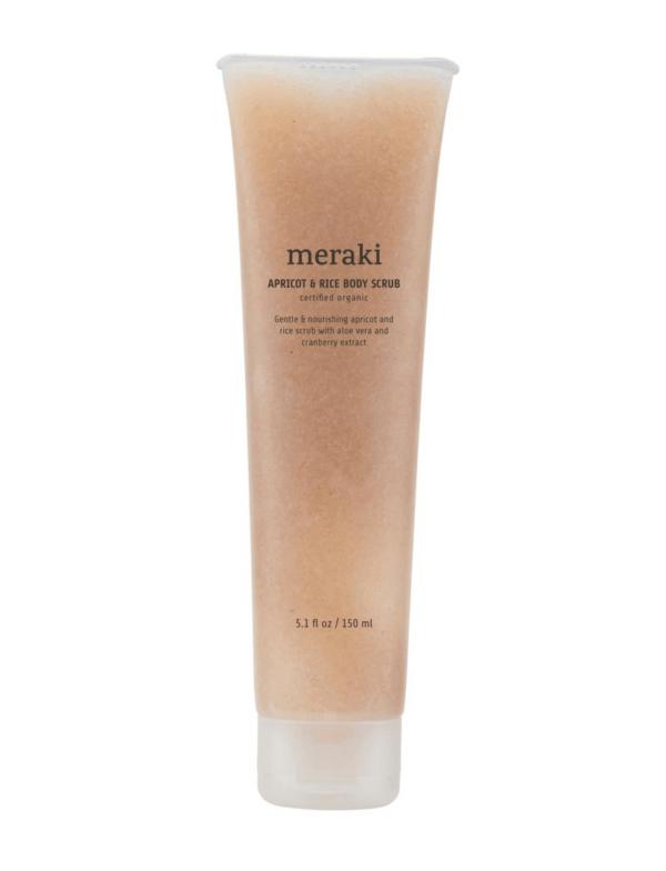 Body Scrub Apricot & Rice von Meraki