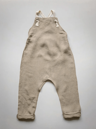 The Linen Overall Oatmeal von The Simple Folk