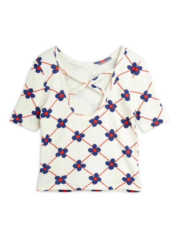 T-Shirt Kids Albatross Grey Melange von Mini Rodini